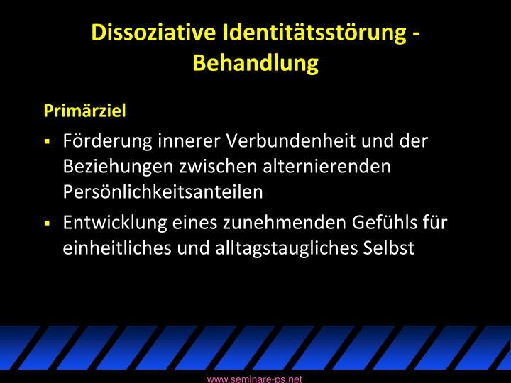 Dissoziative Identitätsstörung -