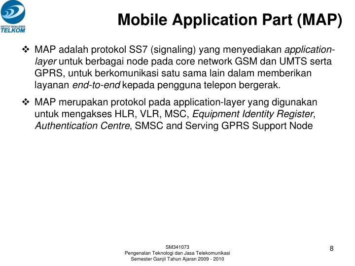 Mobile Application Part (MAP)