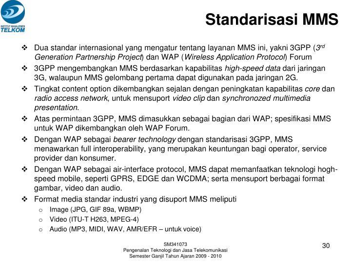 Standarisasi MMS