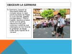 obiceiuri la germanii
