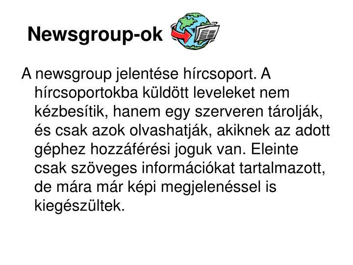 Newsgroup-ok