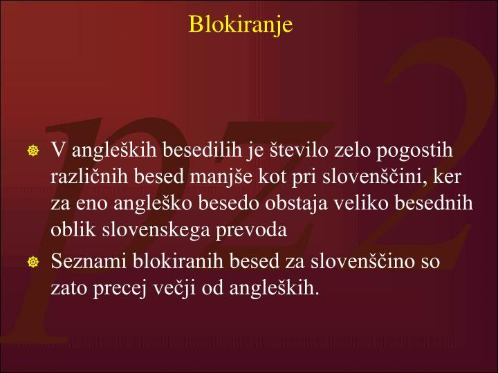 Blokiranje