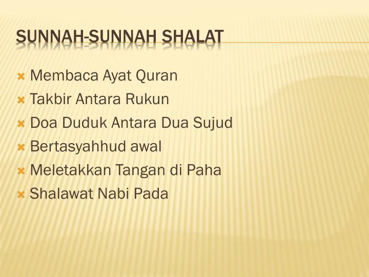 Membaca Ayat Quran