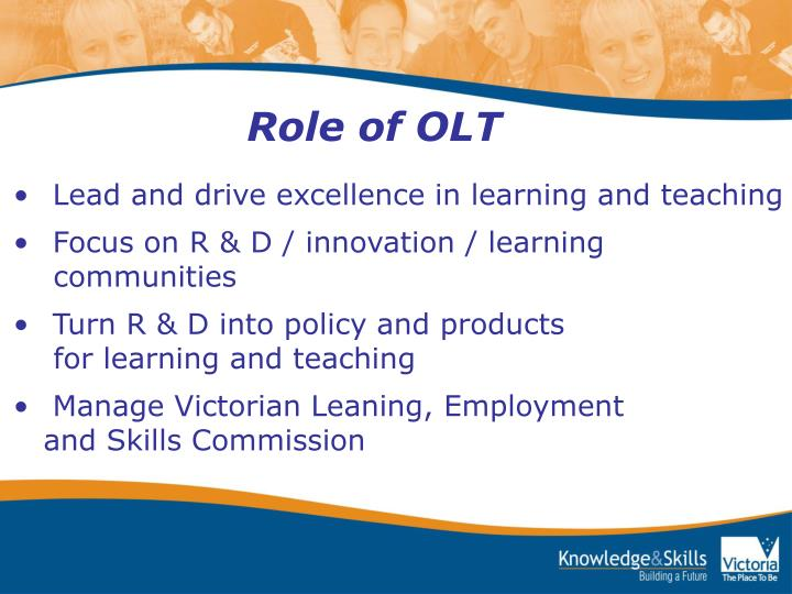 Role of OLT