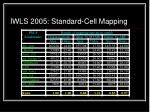 iwls 2005 standard cell mapping