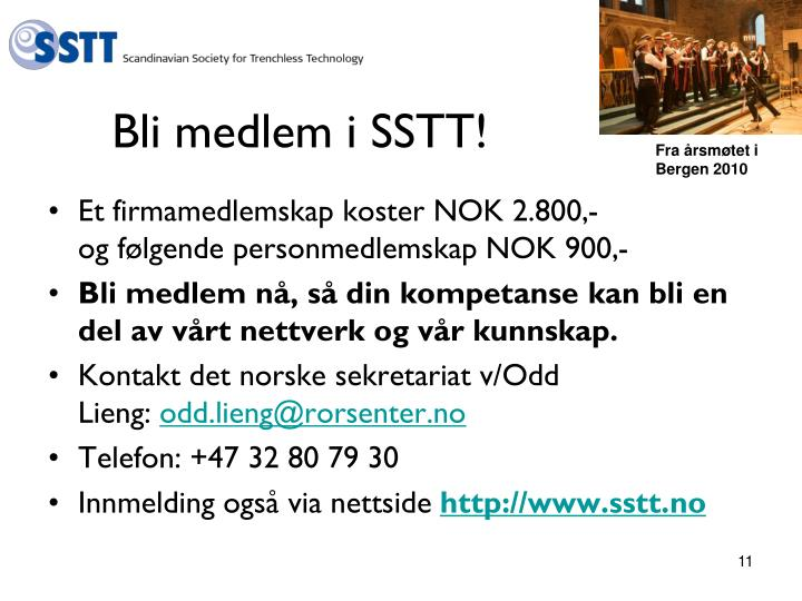 Bli medlem i SSTT!