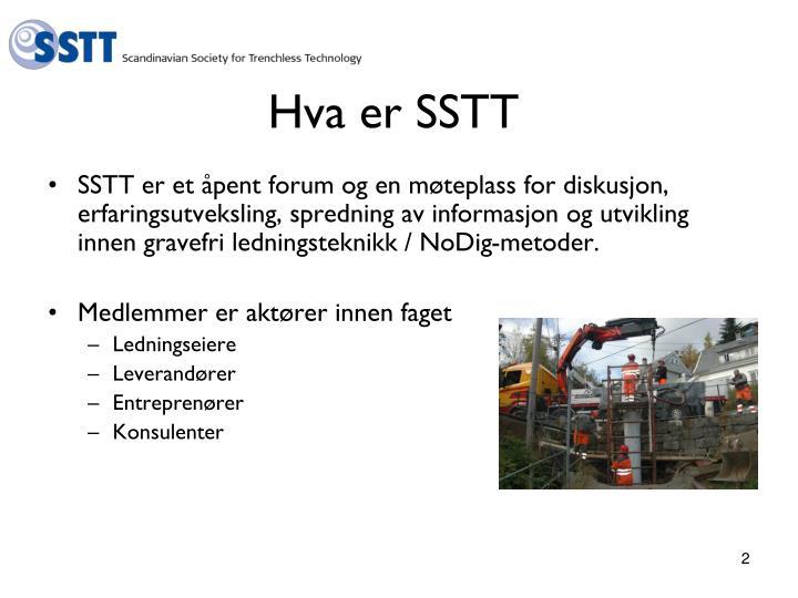 Hva er SSTT