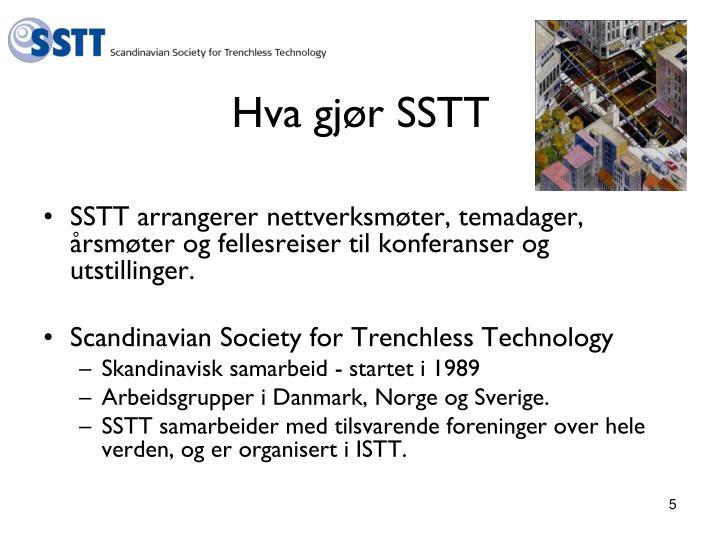 Hva gjør SSTT