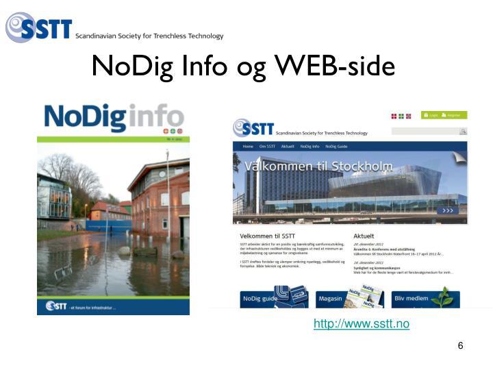 NoDig Info og WEB-side