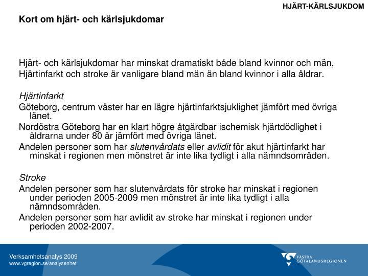 HJÄRT-KÄRLSJUKDOM