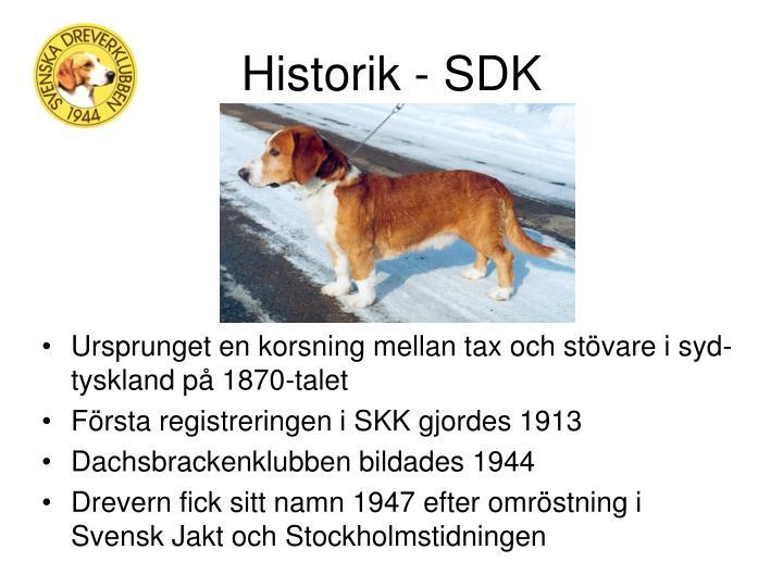 Historik - SDK