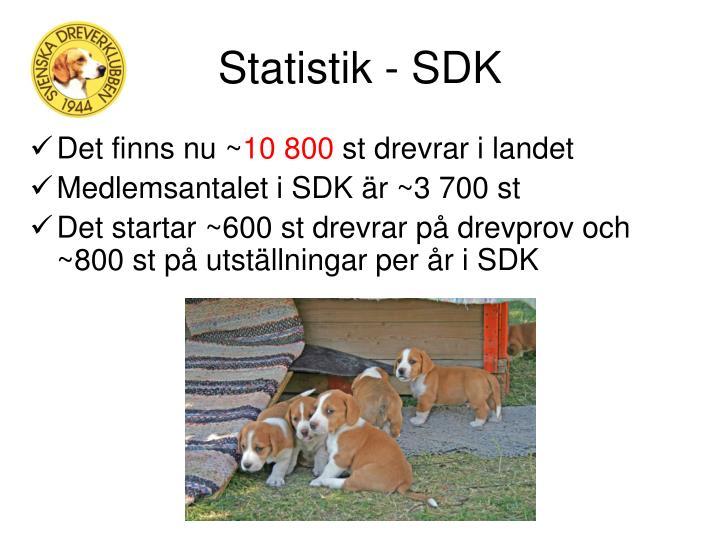 Statistik - SDK