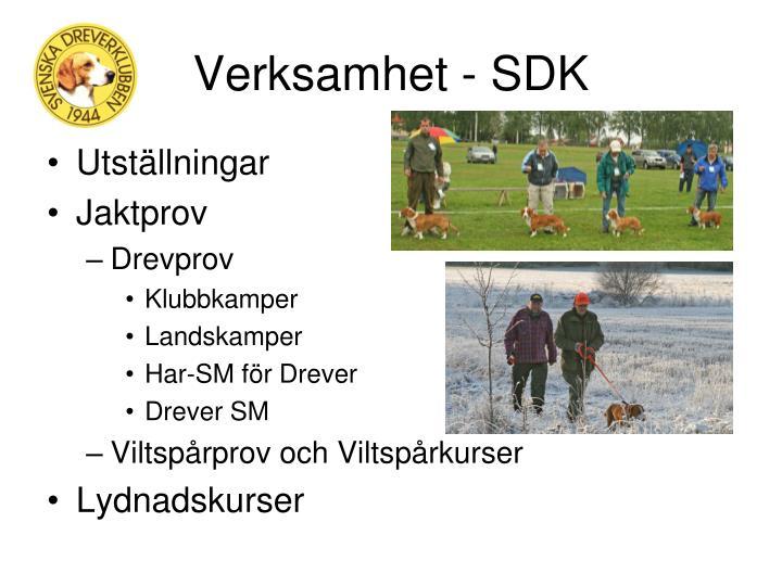 Verksamhet - SDK