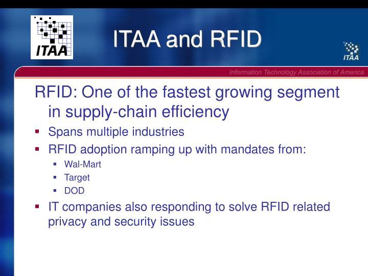 ITAA and RFID