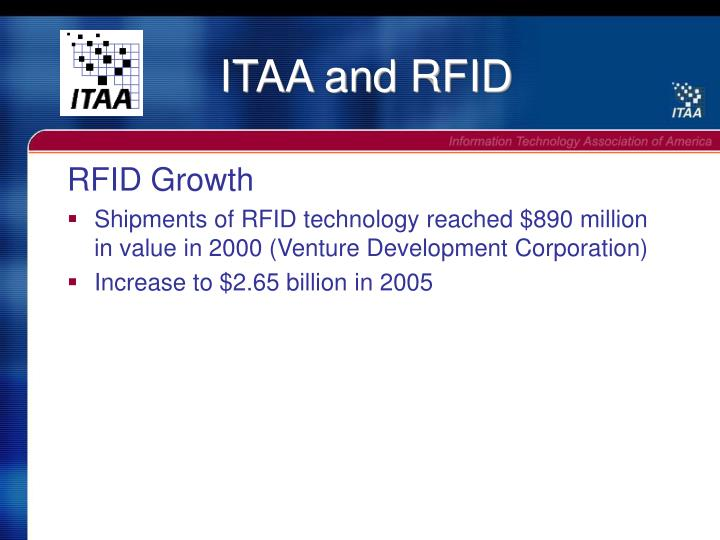 Itaa and rfid1