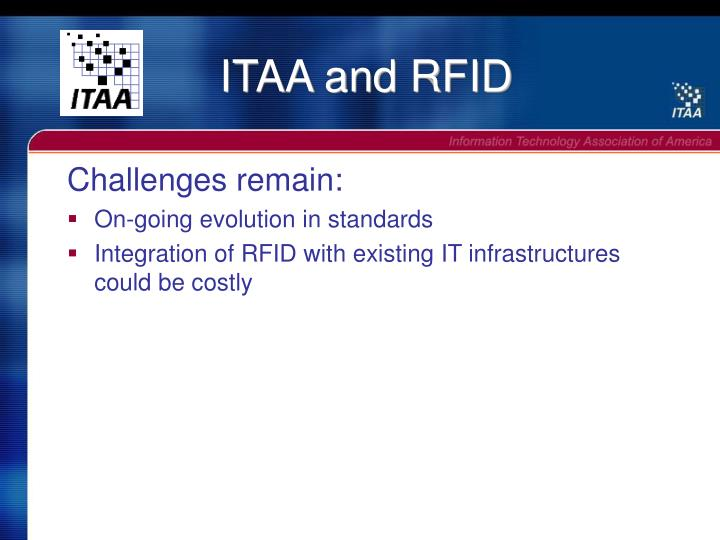 ITAA and RFID