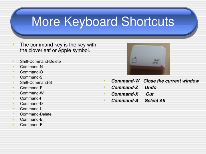 The command key is the key with the cloverleaf or Apple symbol.