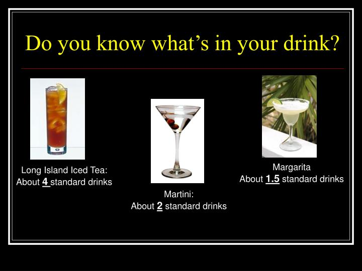 Do you know what's in your drink?