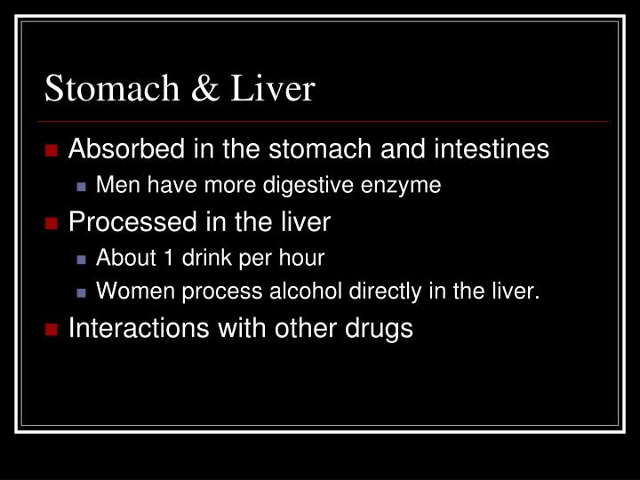 Stomach & Liver