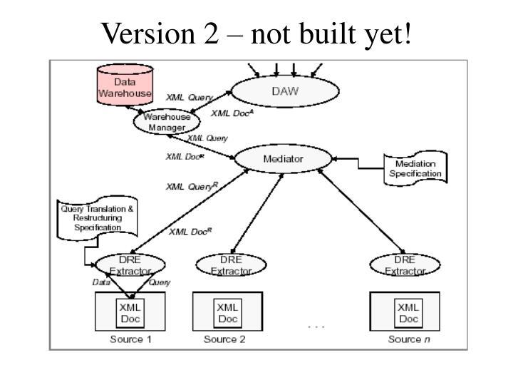 Version 2 – not built yet!