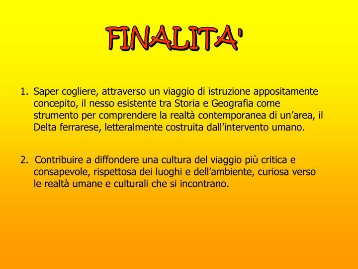 FINALITA'