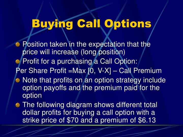 Buying Call Options