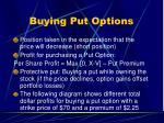 buying put options