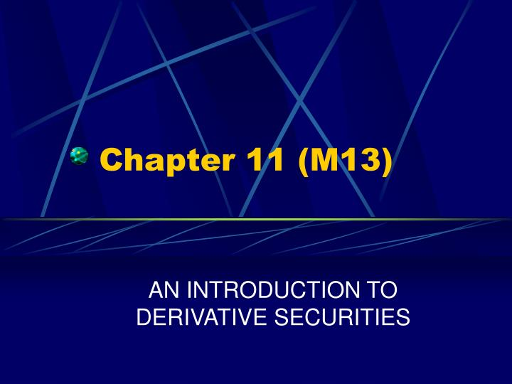 Chapter 11 m13