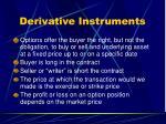 derivative instruments1