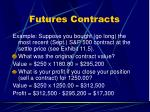 futures contracts3