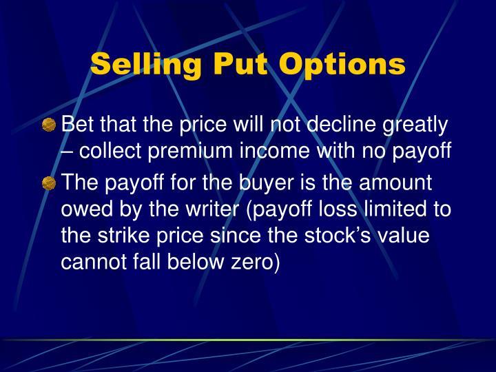 Selling Put Options