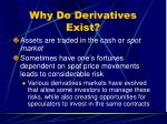 why do derivatives exist