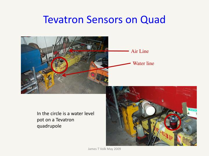 Tevatron Sensors on Quad