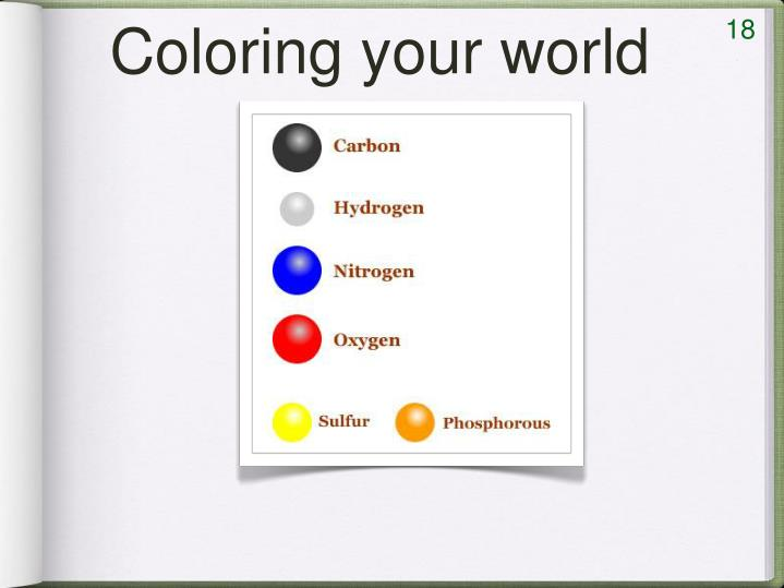Coloring your world