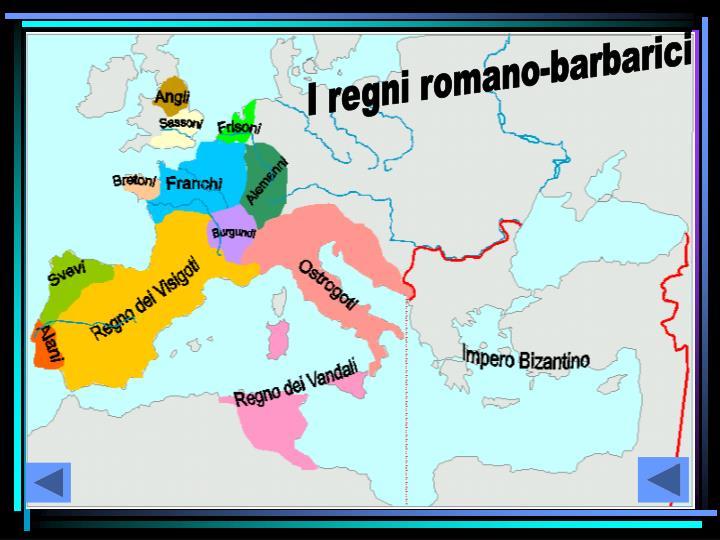 I regni romano-barbarici