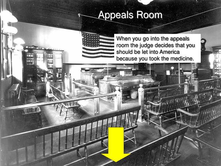 Appeals Room