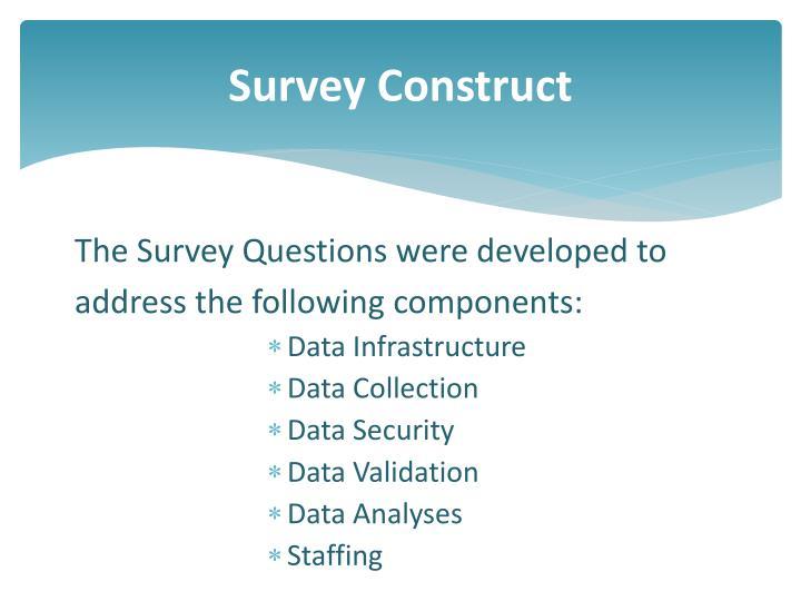 Survey Construct