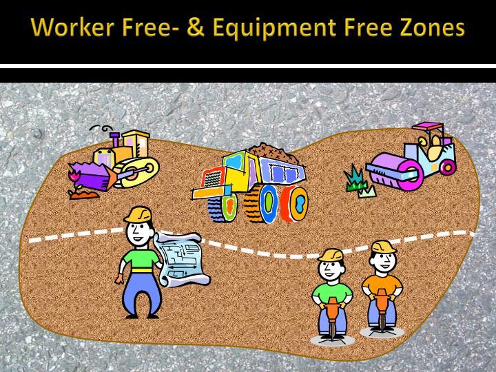 Worker Free- & Equipment Free Zones