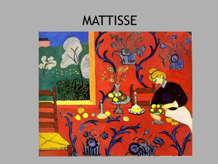 MATTISSE