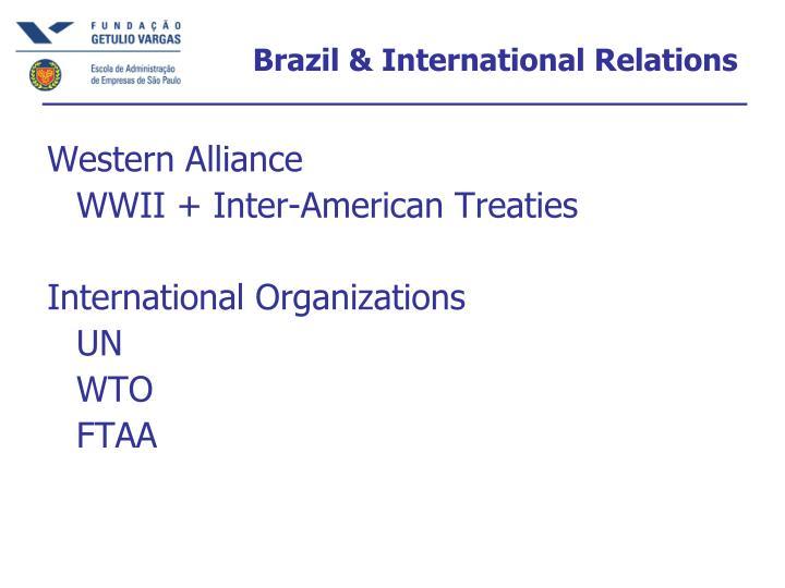 Brazil & International Relations