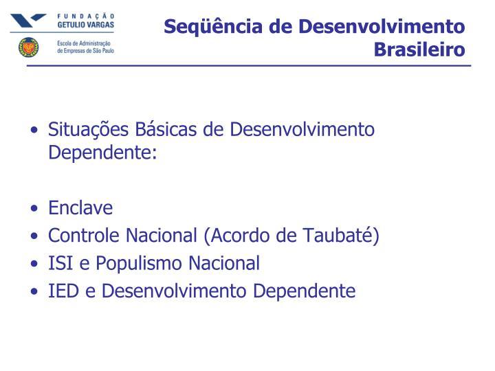 Seqüência de Desenvolvimento Brasileiro