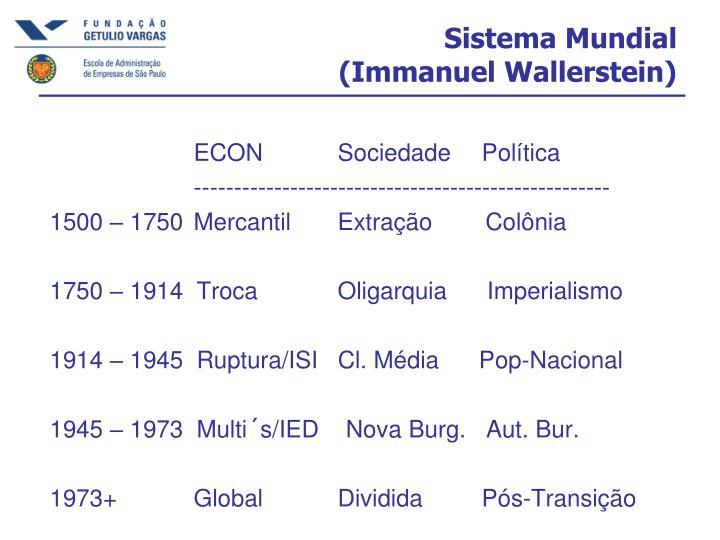 Sistema Mundial
