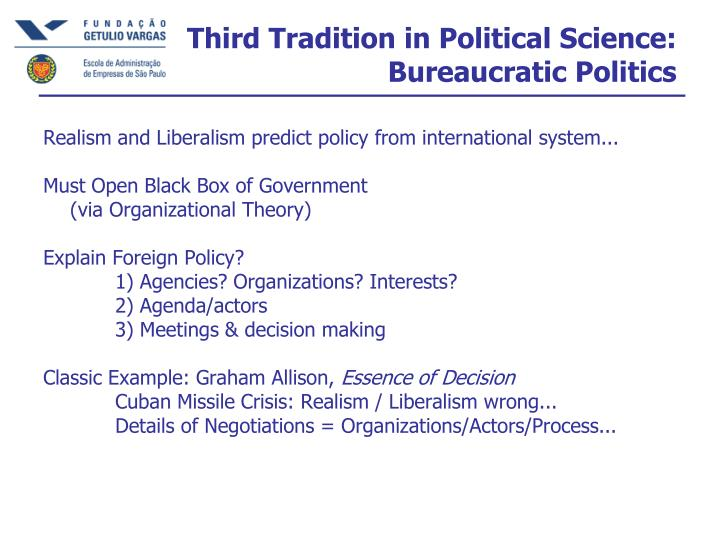 Third Tradition in Political Science: