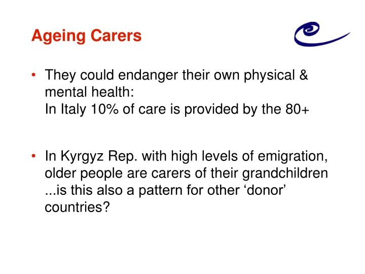 Ageing Carers