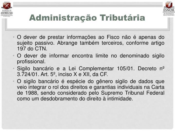 Administração Tributária