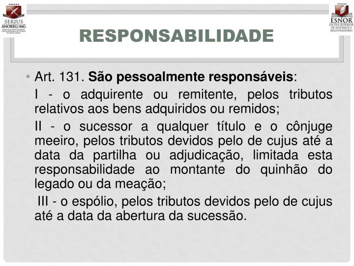 Responsabilidade