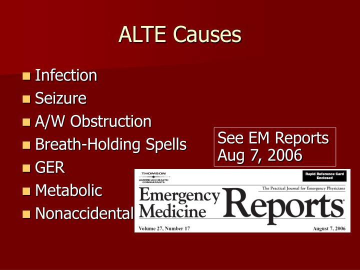 ALTE Causes