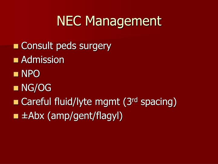 NEC Management