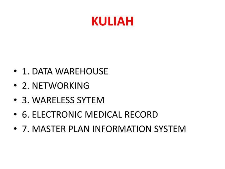 KULIAH