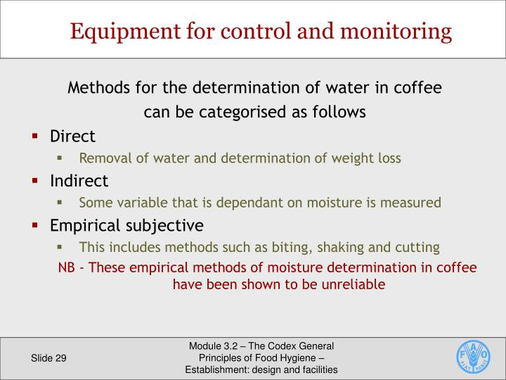 Equipment for control and monitoring
